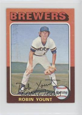 1975 Topps Minis #223 - Robin Yount