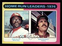 Home Run Leaders - 1974 (Dick Allen, Mike Schmidt) [NM]