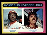 Home Run Leaders - 1974 (Dick Allen, Mike Schmidt) [NMMT]