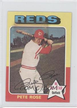 1975 Topps Minis #320 - Pete Rose