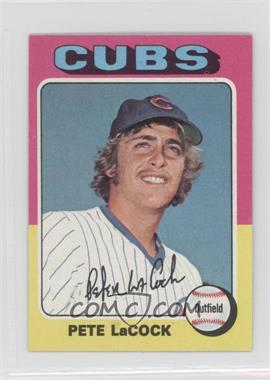 1975 Topps Minis #494 - Pete LaCock
