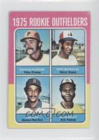 1975 Rookie Outfielders (Dave Augustine, Pepe Mangual, Jim Rice, John Scott) [G…