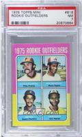 1975 Rookie Outfielders (Dave Augustine, Pepe Mangual, Jim Rice, John Scott) [P…