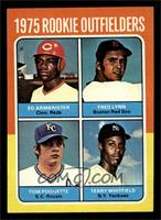 Ed Armbrister, Fred Lynn, Tom Poquette, Terry Whitfield [EX MT]