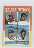Ed Armbrister, Fred Lynn, Tom Poquette, Terry Whitfield [Good to VG&#…