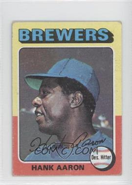 1975 Topps Minis #660 - Hank Aaron [Good to VG‑EX]