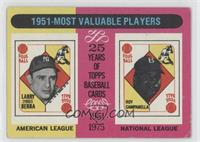 1951 Most Valuable Players (Yogi Berra, Roy Campanella) [Good to VG&#…