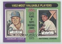 1952-Most Valuable Players (Bobby Shantz, Hank Sauer)