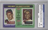 1953-Most Valuable Players (Al Rosen, Roy Campanella) [ENCASED]