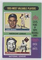 1955 Most Valuable Players (Yogi Berra, Roy Campanella)