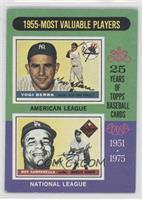 1955 Most Valuable Players (Yogi Berra, Roy Campanella) [Good to VG&#…