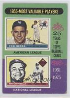 1955 Most Valuable Players (Yogi Berra, Roy Campanella) [GoodtoVG&#…