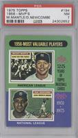 1956 Most Valuable Players (Mickey Mantle, Don Newcombe) [PSA 7]