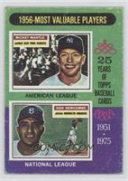1956 Most Valuable Players (Mickey Mantle, Don Newcombe) [GoodtoVG&…