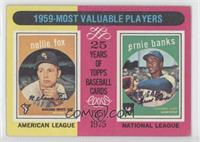 1959 Most Valuable Players(Nellie Fox, Ernie Banks) [Good to VG&#8209…