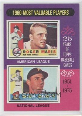 1975 Topps #198 - 1960-Most Valuable Players (Roger Maris, Dick Groat)
