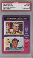 1960-Most Valuable Players (Roger Maris, Dick Groat) [PSA6]