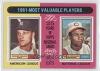 1961-Most Valuable Players (Roger Maris, Frank Robinson) [Good to VG&…