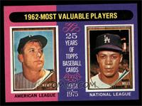 1962-Most Valuable Players (Mickey Mantle, Maury Wills) [NM MT]