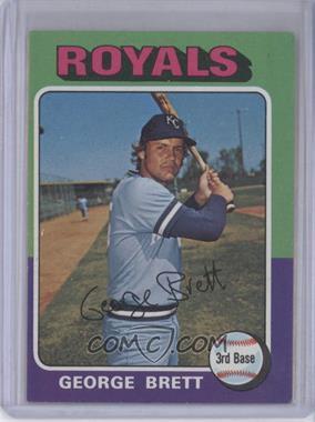 1975 Topps #228 - George Brett
