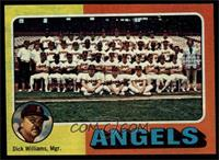 California Angels Team Checklist (Dick Williams) [EX MT]