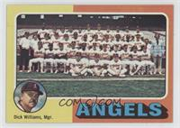 California Angels Team Checklist (Dick Williams)