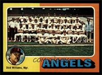 California Angels Team Checklist (Dick Williams) [NM]