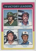 Fergie Jenkins, Phil Niekro, Andy Messersmith, Catfish Hunter [Good to&nbs…
