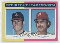 Strikeout Leaders (Nolan Ryan, Steve Carlton) [Good to VG‑EX]