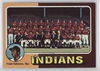 Cleveland Indians Team Checklist (Frank Robinson)