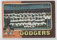 Los Angeles Dodgers Team Checklist (Walter Alston) [Good to VG‑…