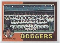 Los Angeles Dodgers Team Checklist (Walter Alston)