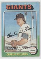 Charlie Williams [Good to VG‑EX]