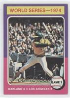 World Series-1974 Game 1 (Reggie Jackson)