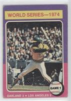 World Series-1974 Game 1 (Reggie Jackson) [Good to VG‑EX]