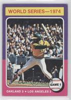 World Series-1974 Game 1 (Reggie Jackson) [GoodtoVG‑EX]