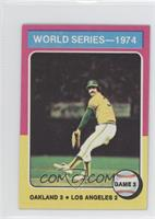 World Series Game 3 (Rollie Fingers)