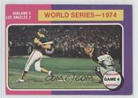 World Series-1974 Game 4
