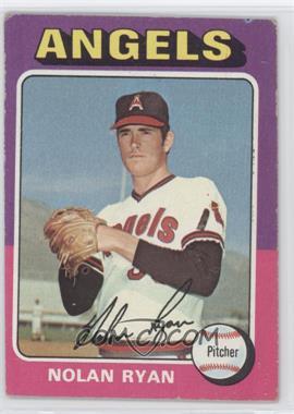 1975 Topps #500 - Nolan Ryan