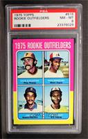 Dave Augustine, Pepe Mangual, Jim Rice, John Scott [PSA 8]