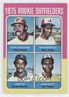 Dave Augustine, Pepe Mangual, Jim Rice, John Scott