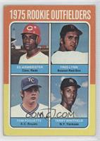 Ed Armbrister, Fred Lynn, Terry Whitfield, Tom Poquette [Good to VG&#…