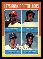 Ed Armbrister, Fred Lynn, Terry Whitfield, Tom Poquette [GOOD]