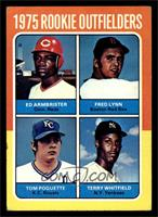 Ed Armbrister, Fred Lynn, Terry Whitfield, Tom Poquette [VG EX]