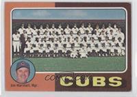 Cubs Team Checklist (Jim Marshall) [GoodtoVG‑EX]