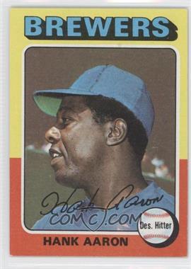 1975 Topps #660 - Hank Aaron