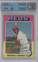 George Foster [BGS/JSA Certified Auto]