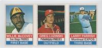 Willie McCovey, Greg Luzinski, Larry Parrish