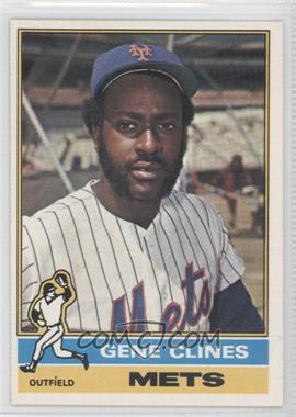 1976 O-Pee-Chee #417 - Gene Clines