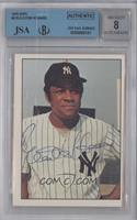 Elston Howard [BGS/JSA Certified Auto]